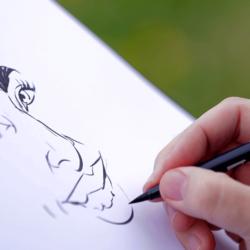 caricature lyon
